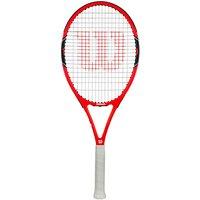 Wilson Federer 100 Tennis Racket, Red/Black