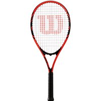 Wilson Federer Tennis Racket, Black/Red
