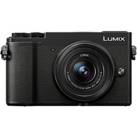 Panasonic Lumix DC-GX9 Compact System Camera with 12-32mm IS Lens, 3x Optical Zoom, 4K Ultra HD, 20.3MP, Wi-Fi, Bluetooth, Tiltable EVF, 3 Tiltable Touch Screen, Black