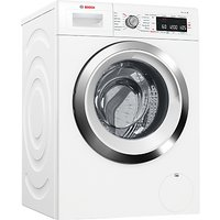 Bosch WAW285H0GB Freestanding Washing Machine, A+++ Energy Rating, 9kg Load, 1360rpm Spin, White