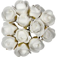 Habico Small Foam Flowers, Pack of 12