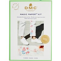 DMC Magic Paper Flower Traditional Embroidery Kit