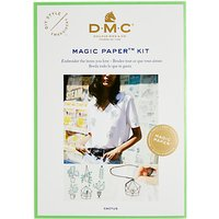 DMC Magic Paper Cactus Embroidery Kit