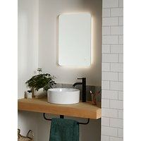 John Lewis & Partners Backlit Colour Changing Bathroom Mirror