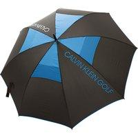 Calvin Klein Golf Stormproof Umbrella, Black/Royal Blue