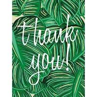 Caroline Gardner Tropical Thank You Notecards, Pack of 10