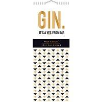 Alice Scott Slim 2019 Gin Calendar