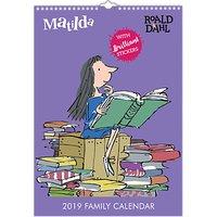 Portico A3 Roald Dahl Matilda 2019 Calendar