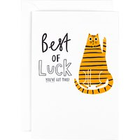 Hotch Potch Best Of Luck Card at John Lewis & Partners Department Store