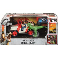 Jurassic World Jeep Wrangler Raptor Attack Remote Control