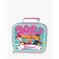 Paw Patrol 'Born Brave' Children's Lunch Bag, Pink/Green