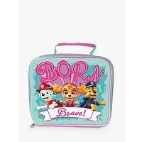 Paw Patrol 'Born Brave' Children's Lunch Bag, Pink/Green