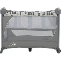 Joie Commuter Change Petite City Travel Cot, Grey