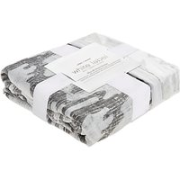 Aden + Anais White Label Silky Soft Foragers Bear Dream Blanket, Grey/Multi