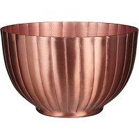 John Lewis & Partners Serving Bowl, Dia.15cm, Copper