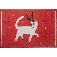 John Lewis & Partners Christmas Cat Door Mat