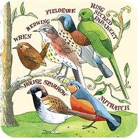 Emma Bridgewater Garden Birds Coasters, Set of 4