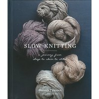 Abrams & Chronicle Books Hannah Thiessen Slow Knitting Book