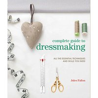 Search Press Jules Fallon Complete Guide to Dressmaking Book