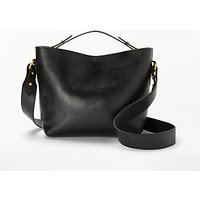 John Lewis & Partners Paige Leather Mini Top Handle Cross Body Bag