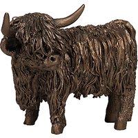 Frith Sculpture Highland Cattle by Veronica Ballan, Bronze