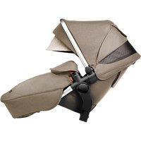 Silver Cross Wave Tandem Seat Unit, Linen