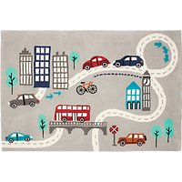 little home at John Lewis City Rug, Multi