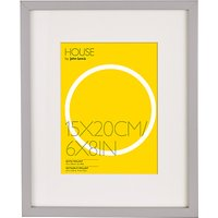 House by John Lewis Box Photo Frame & Mount, 6 x 8 (15 x 20cm)