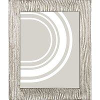 John Lewis & Partners Wave Textured Photo Frame, 8 x 10 (20 x 25cm), Silver