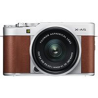"""Fujifilm X-A5 Compact System Camera with XC 15-45mm OIS Lens, 4K Ultra HD, 24.2MP, Wi-Fi, Bluetooth, 3"""" Tiltable LCD Touch Screen"""