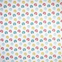 Crafter's Companion Reindeer Dash Print Fabric, Multi