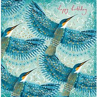 Woodmansterne Kingfishers Greeting Card