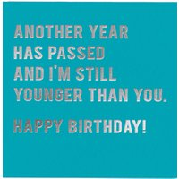 Redback Cards Younger Birthday Card