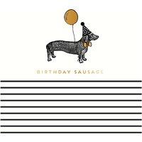 Alice Scott Birthday Sausage Card