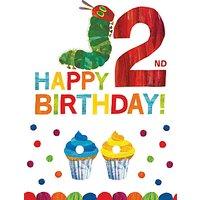 Woodmansterne Caterpillar 2nd Birthday Card