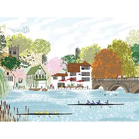 Woodmansterne By The River Greeting Card