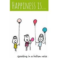 Cardmix Helium Voice Greeting Card