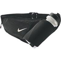 Nike Large Bottle Running Belt, Black/Silver