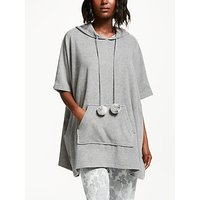 John Lewis & Partners Fleece Poncho, Grey