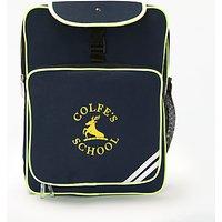 Colfe's School Backpack, Navy