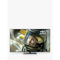 Panasonic TX-65FX750B LED HDR 4K Ultra HD Smart TV, 65 with Freeview Play/Freesat HD & Art Glass Design, Black