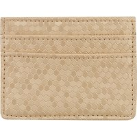 John Lewis & Partners Card Holder, Honeycomb Gold