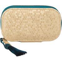 John Lewis & Partners Manicure Set, Honeycomb Gold