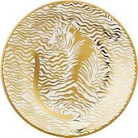 John Lewis & Partners Lyla Round Trinket Dish, Gold