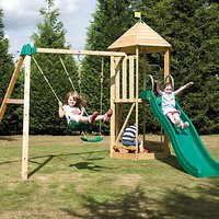 TP Toys Castlewood Beeston Swing and Slide Set