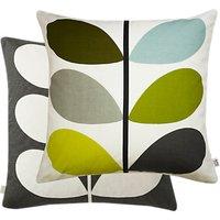 Orla Kiely Multi Stem Cushion, Seagrass