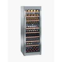 Liebherr WTES5972 Vinothek Multi-temperature Freestanding Wine Cabinet, Steel