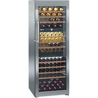 Liebherr WTES5872 Vinothek Multi-temperature Freesanding Wine Cabinet, Steel