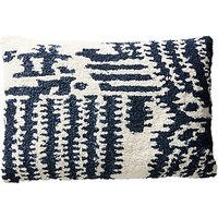 Anthropologie Jordana Tufted Cushion, Navy