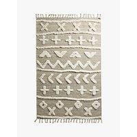 Anthropologie Minna Tufted Wool Rug, L200 x W130cm